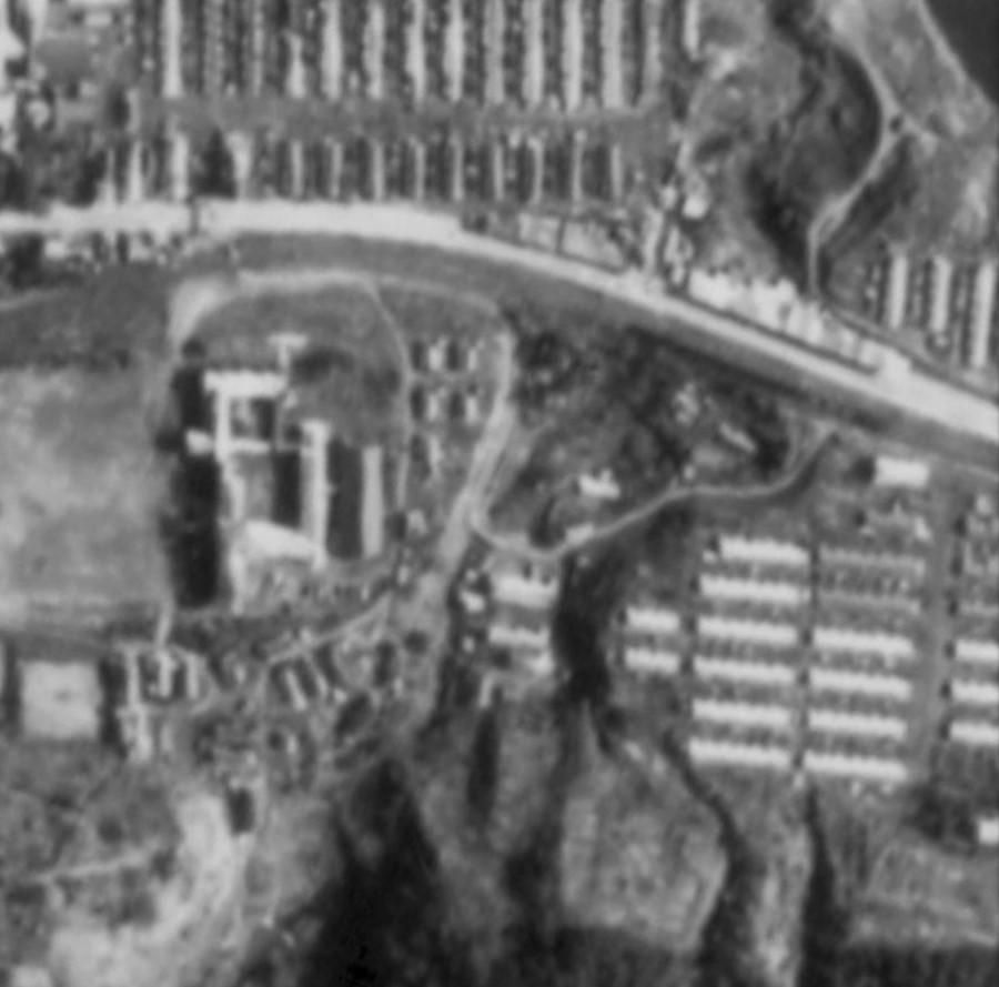 昭和47年緑ヶ丘、泉町航空写真