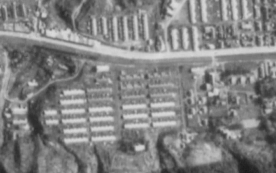 昭和47年錦町航空写真