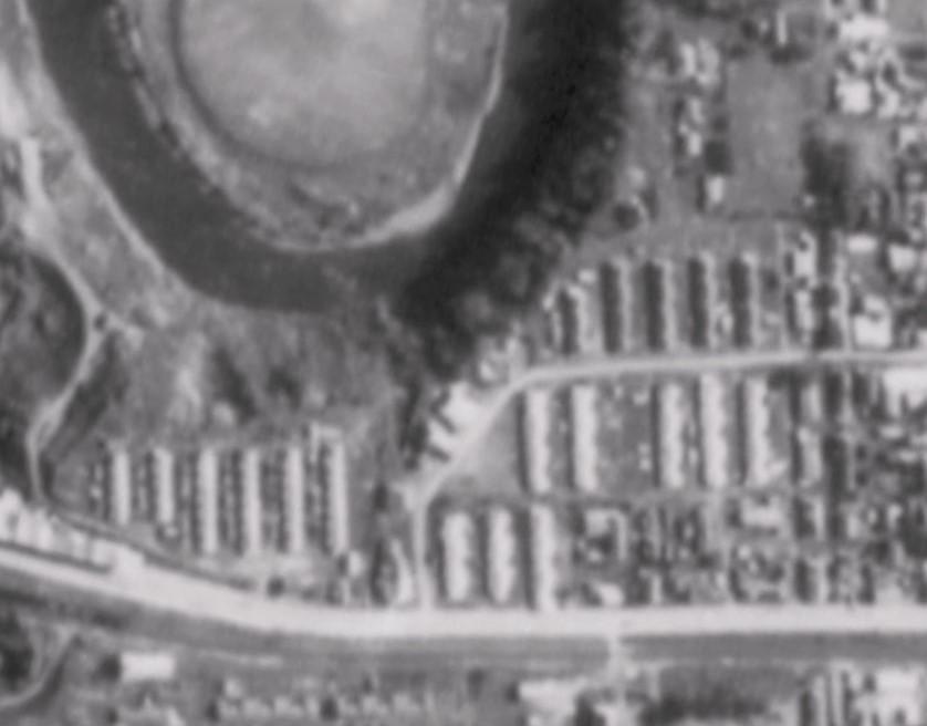 昭和47年宝町航空写真