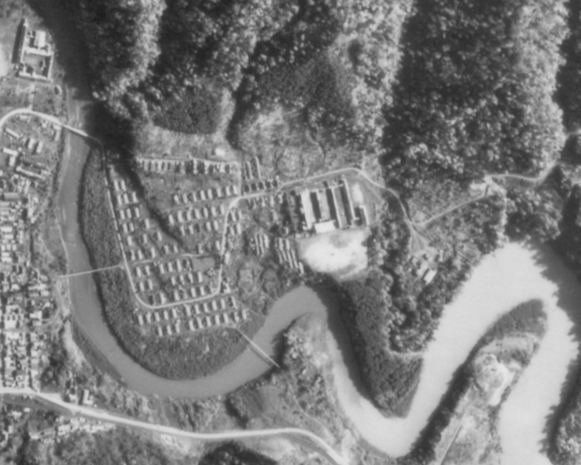 昭和47年常盤町航空写真