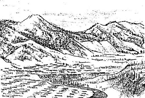 大夕張10景(4)山すその街なみ