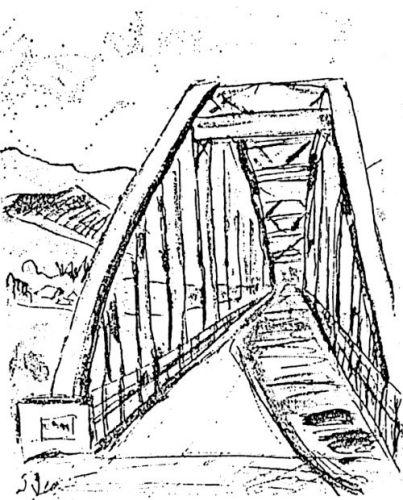 大夕張10景(5)白銀橋に憩う