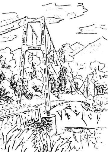 大夕張10景(8) 常盤橋のリズム