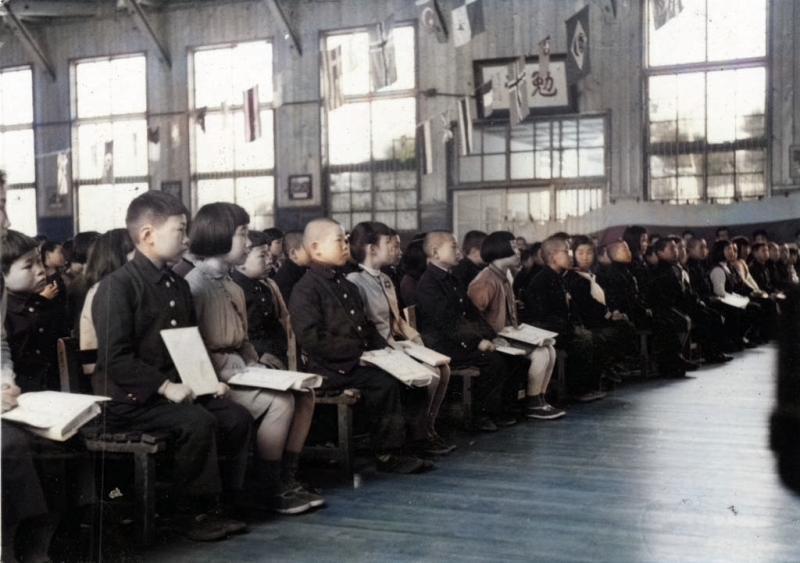 昭和32年度 鹿島東小学校終業式
