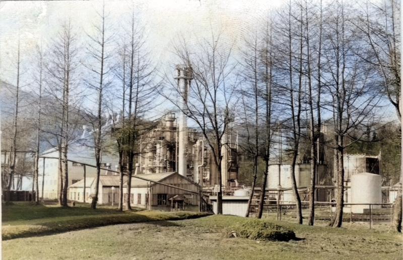 メタノール工場