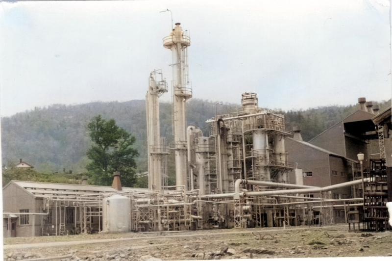 メタノール工場2