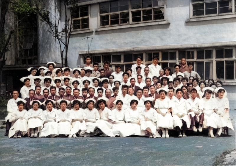 三菱大夕張炭砿病院 職員写真