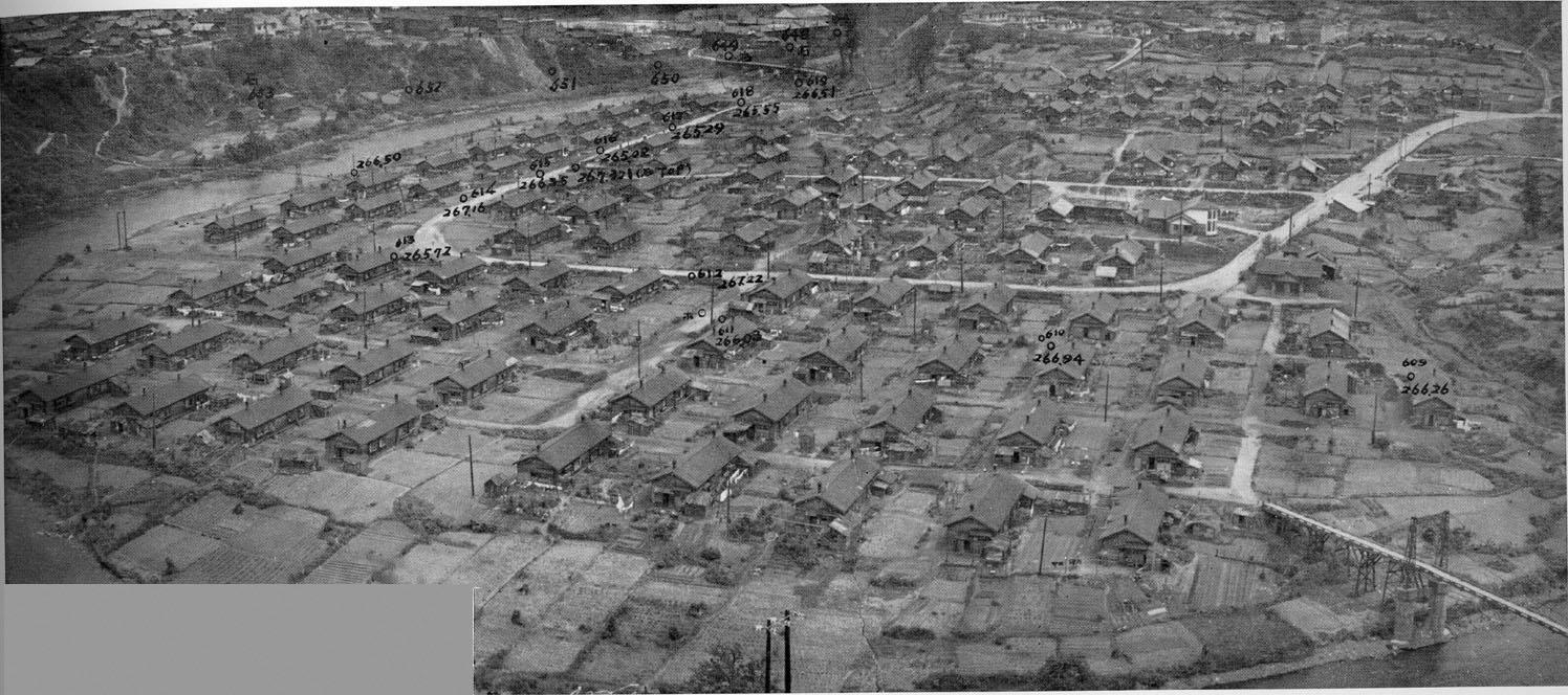 昭和30年 常盤町全景