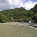 平成10年夏 シューパロ川の河原(鹿島橋付近) |飯田雅人