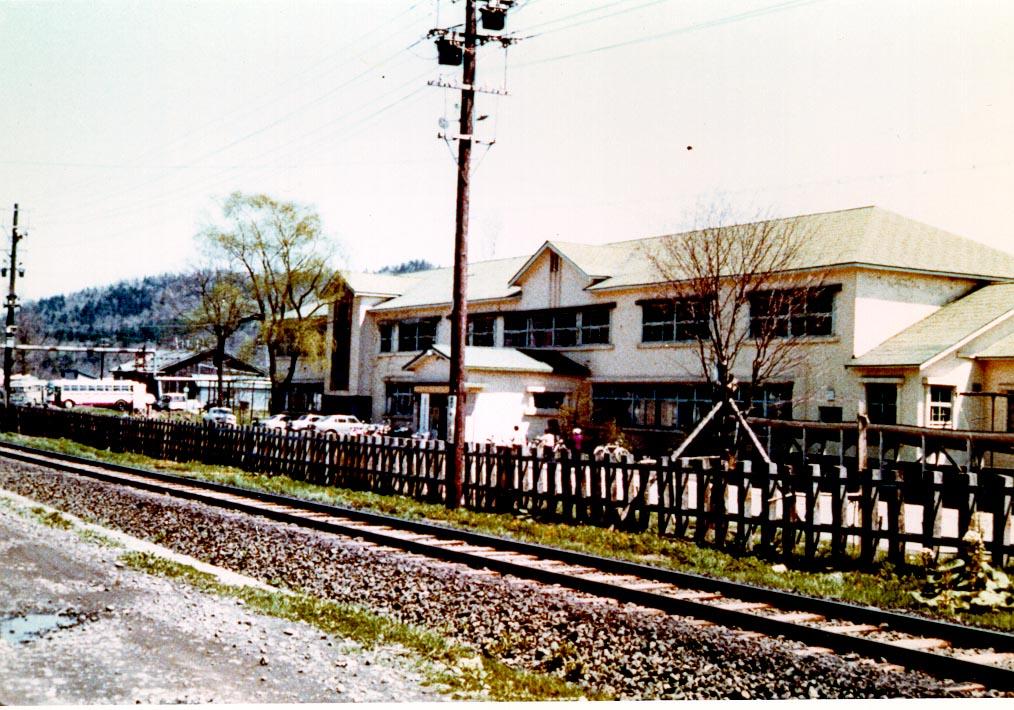 昭和40年 三菱大夕張炭砿病院