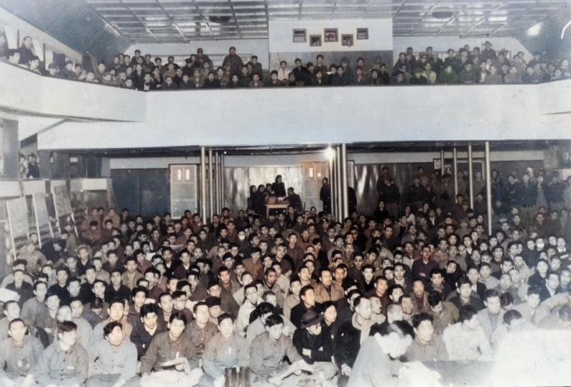 労働組合の大会(協和会館)