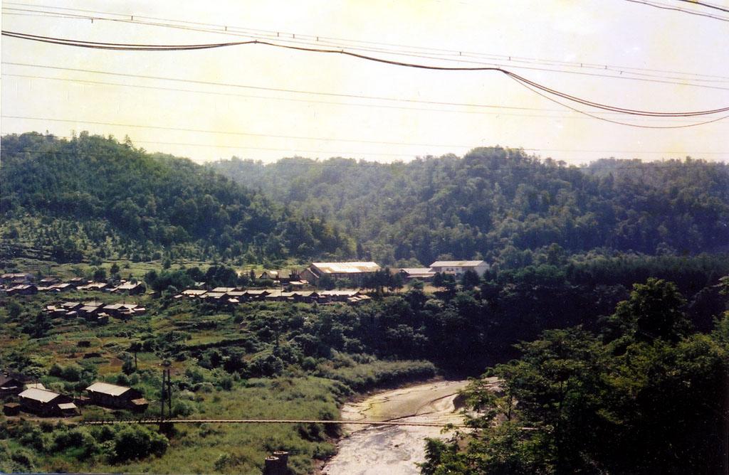 鹿島中学校と常盤橋