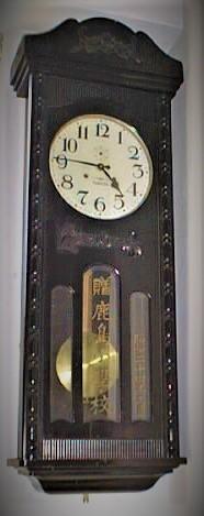 鹿島小学校大時計