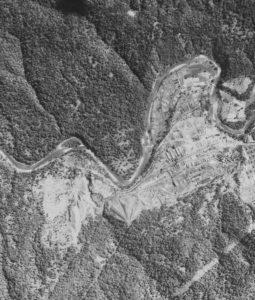 昭和23年/30年/47年 官行周辺比較航空写真
