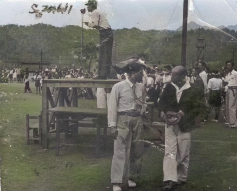 昭和28年 鹿島小学校運動会