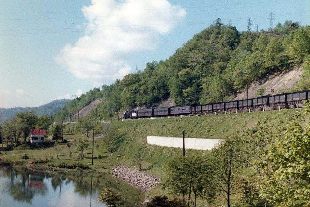 吉野沢公園と石炭列車