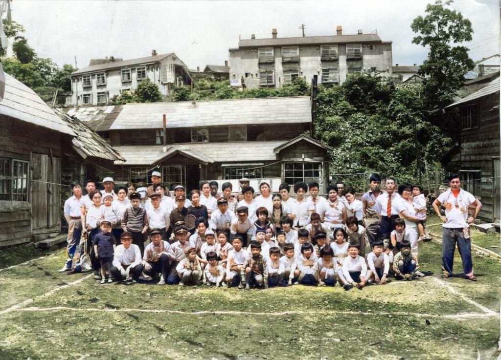 昭和35年 泉町 町内運動会