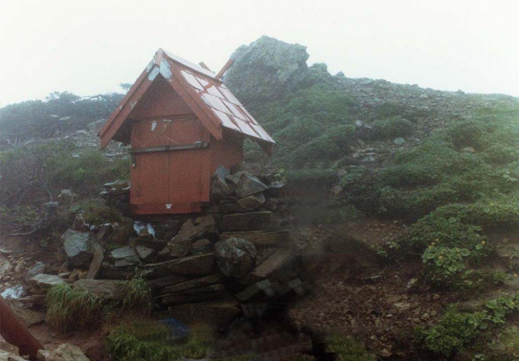 夕張岳三吉神社