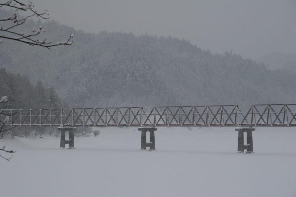 三弦橋 冬