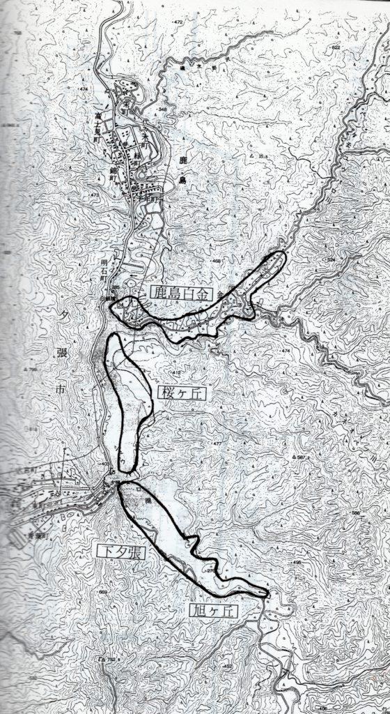 鹿島 開拓地 地図
