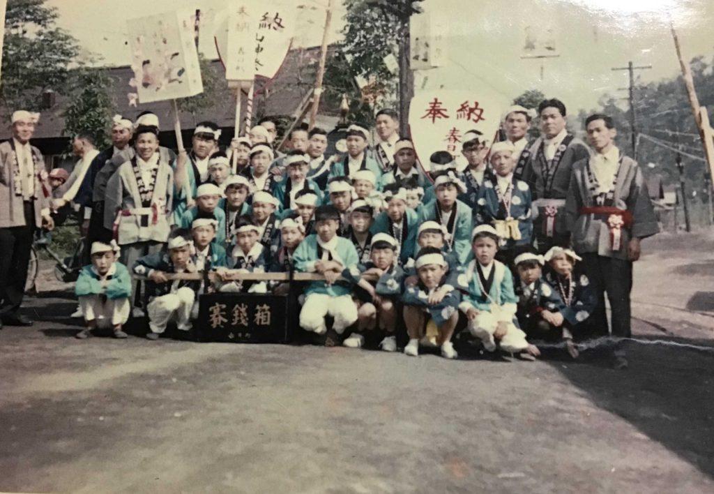 昭和39年春日町 お祭り