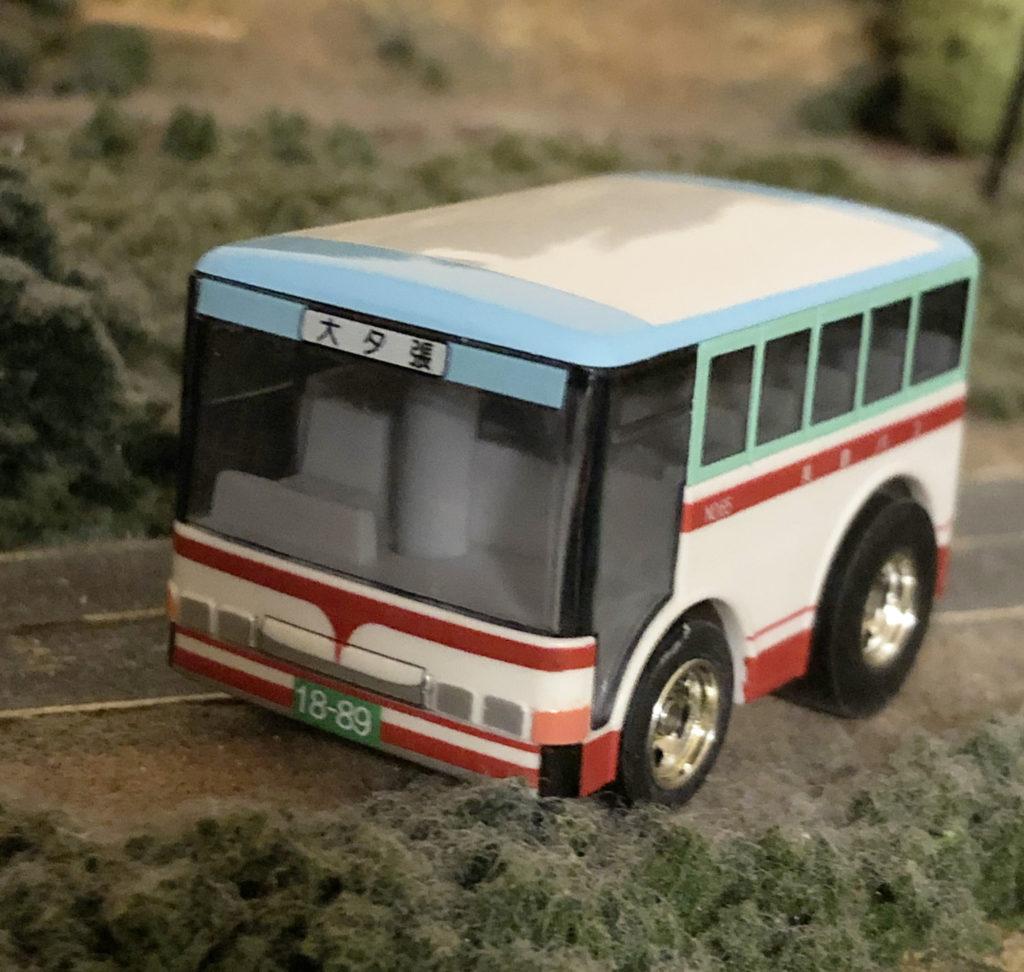 チョロQになった『美鉄バス』