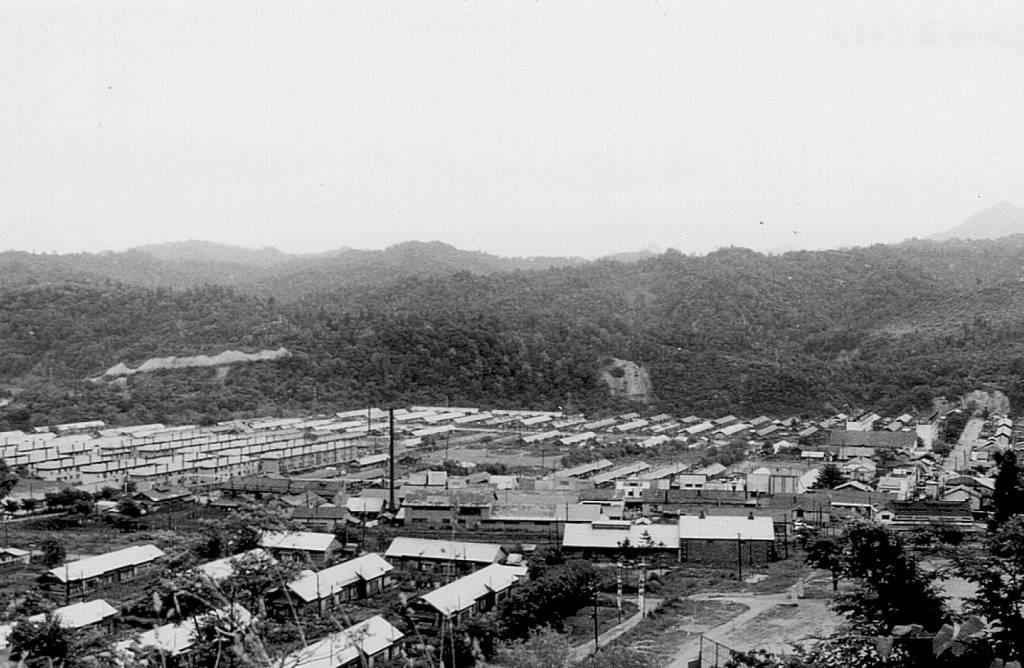 昭和45年 栄町全景