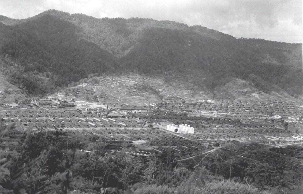 昭和32年 弥生町全景