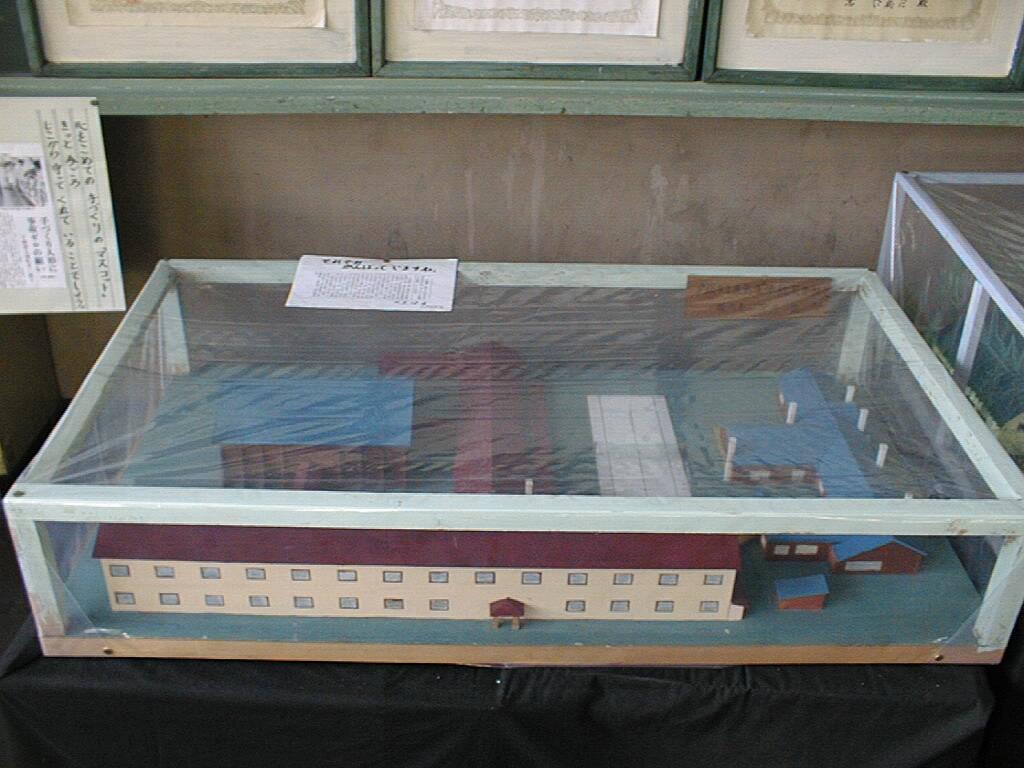 鹿島東小学校 校舎模型