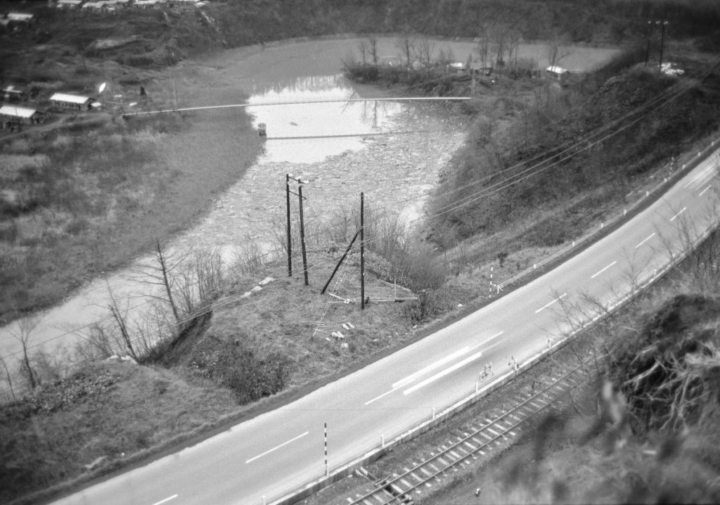 昭和48年秋 常盤町 常盤橋・サトミ公園