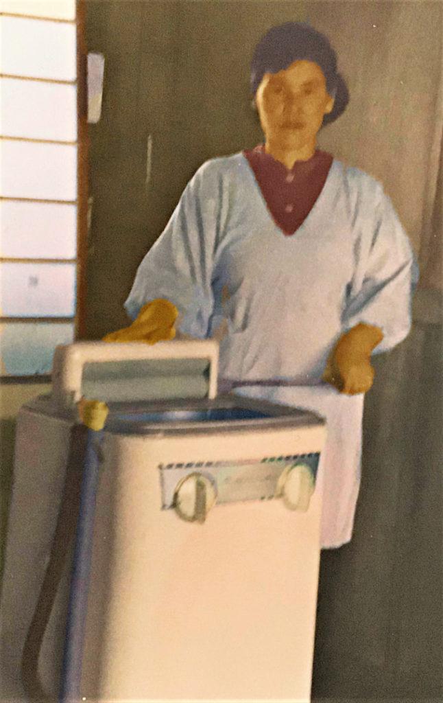 初めての洗濯機