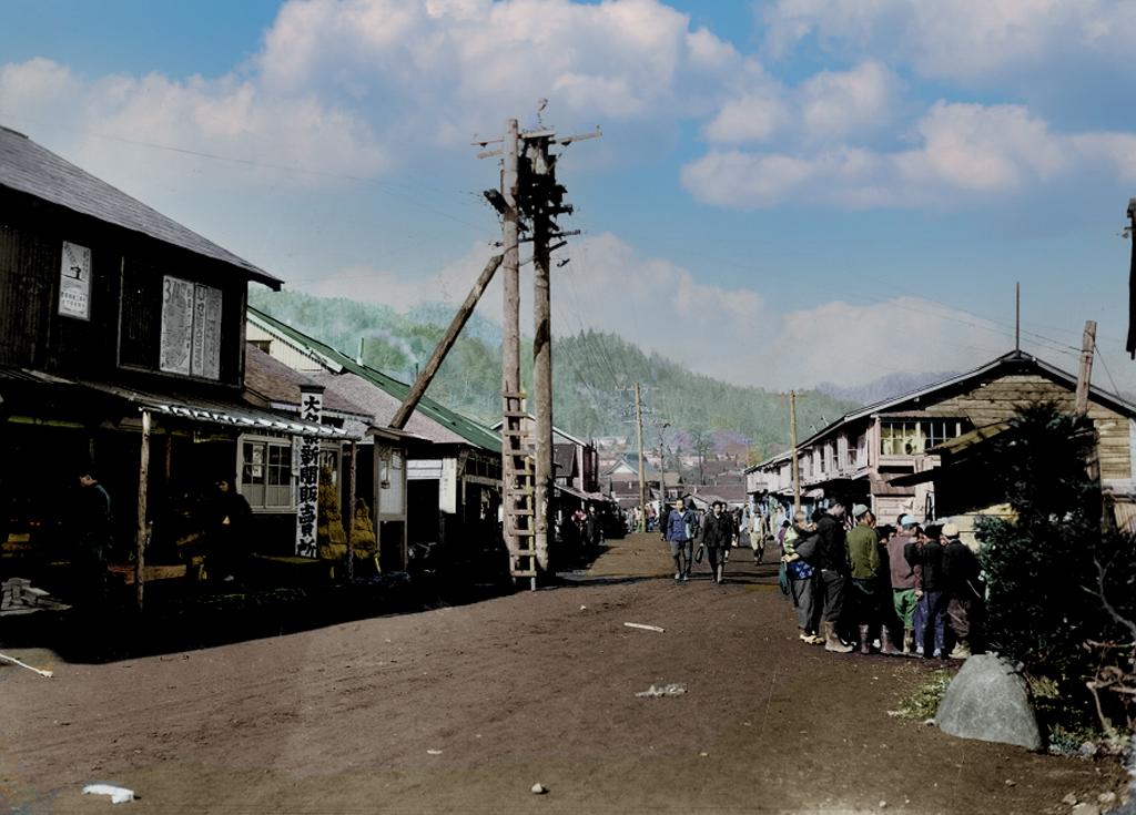 戦後間もない 栄町商店街