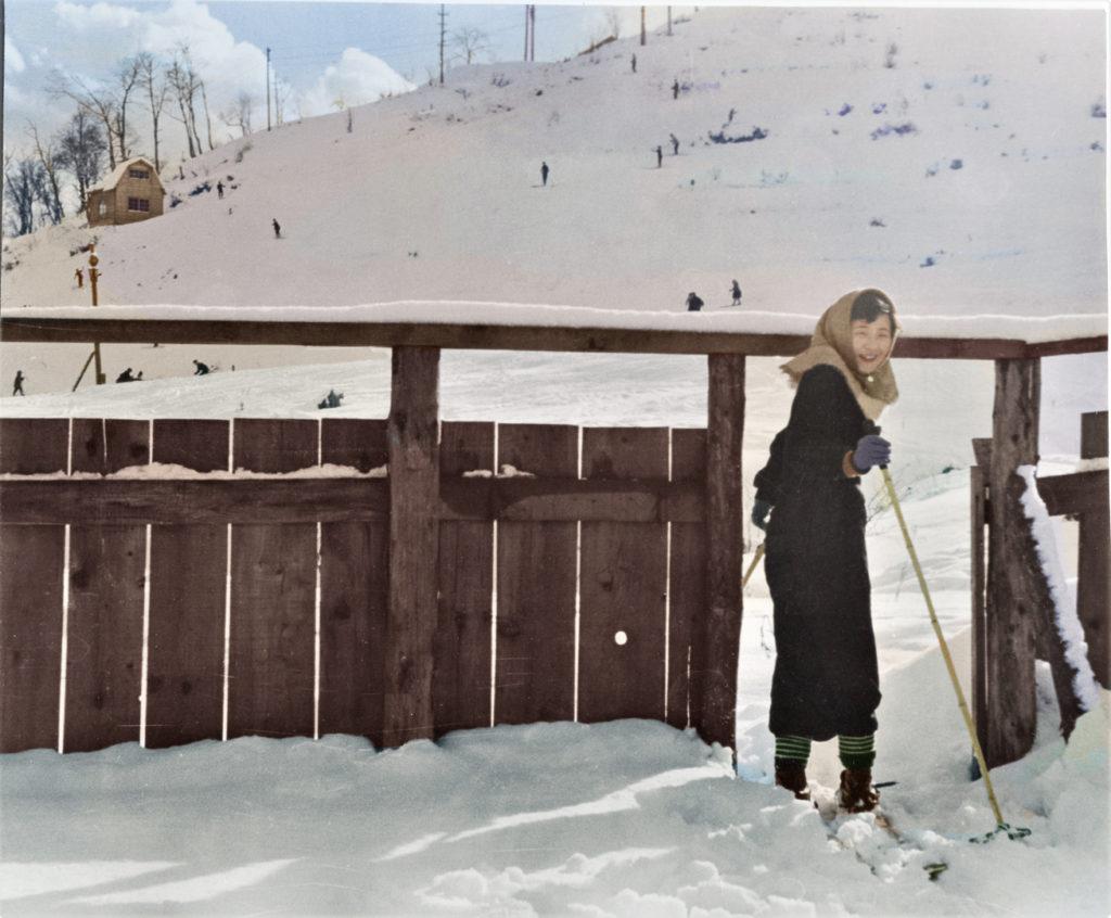 昭和28年 富士見ヶ丘スキー場