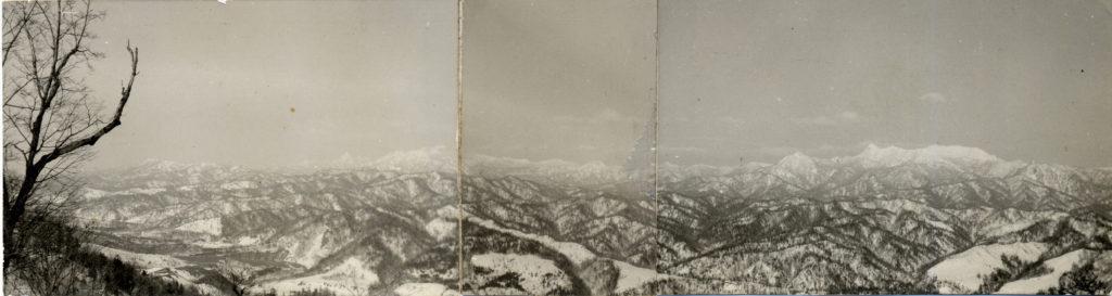 夕張岳と芦別岳