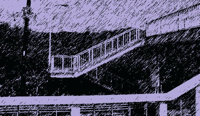 食憶(その9 歩道橋の午後3時)|長谷川潤一