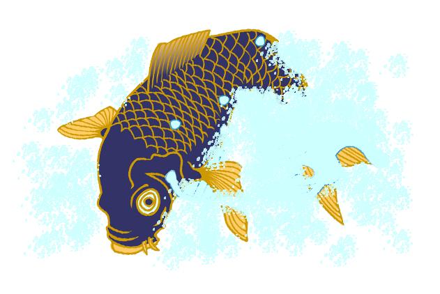食憶(その6 三尺鯉) 長谷川潤一