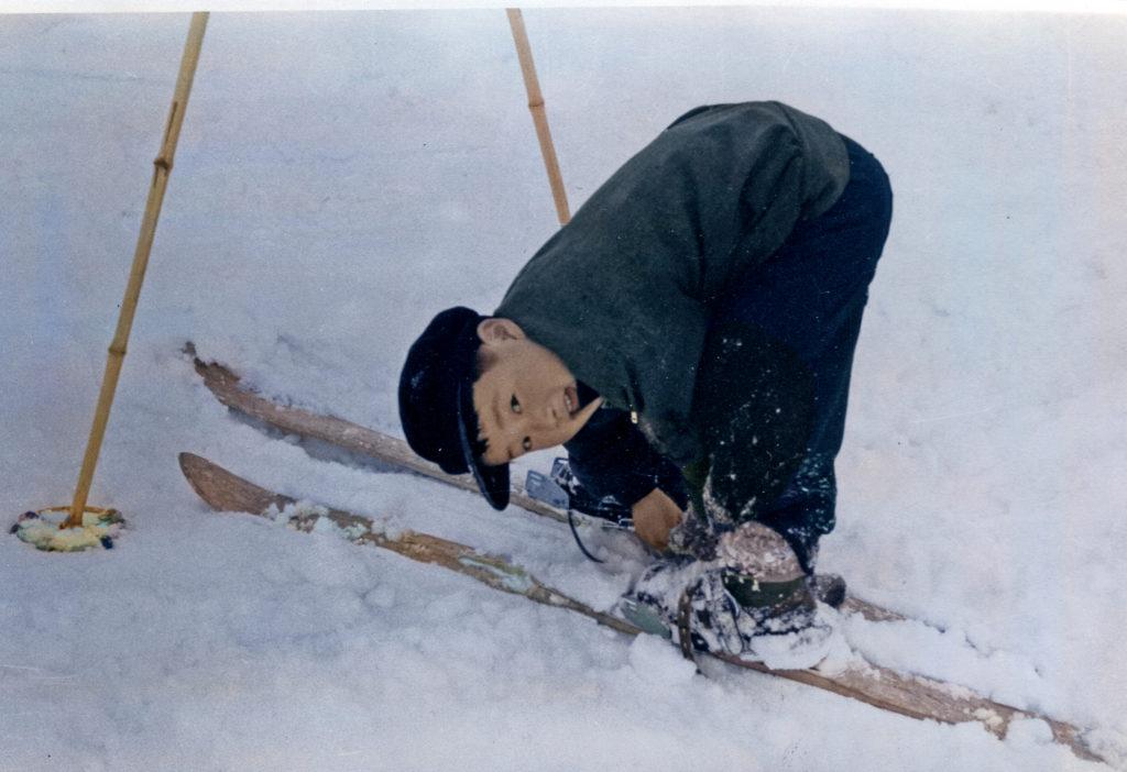 子どもとスキー