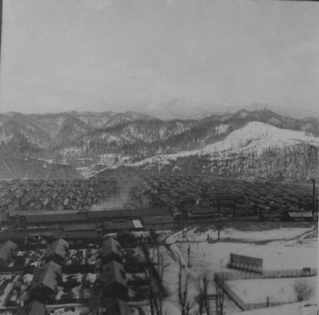 昭和20年代 冬の神社から