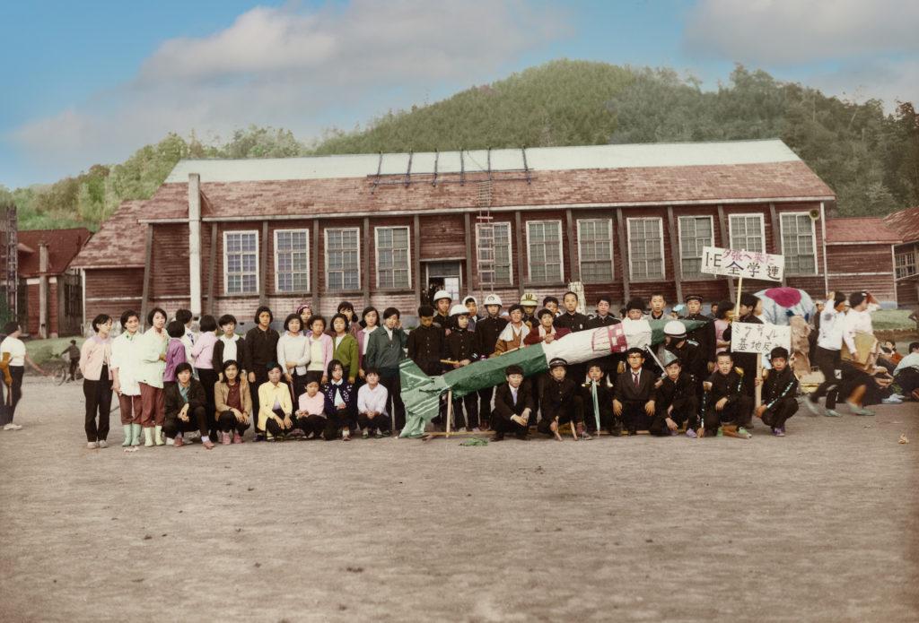 昭和43年 鹿島中学校文化祭 1年E組『夕張に来た全学連』