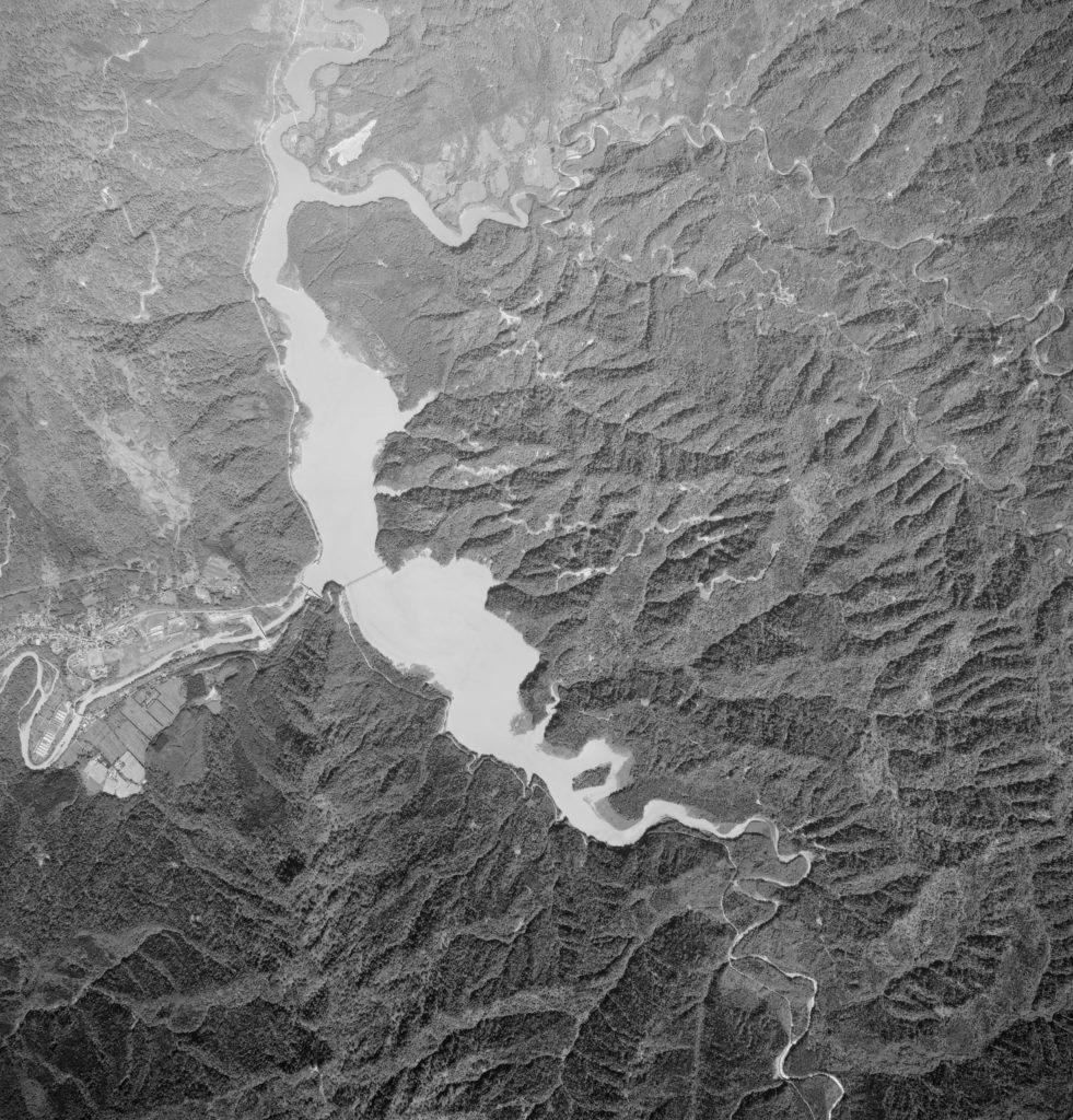2000年(平成12年)のシューパロ湖