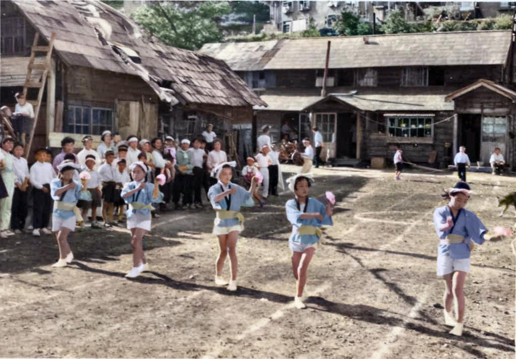 泉町 第2回町内会運動会 踊り