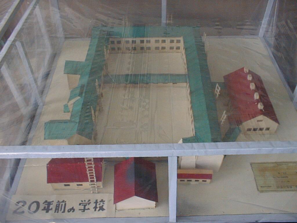 鹿島小学校 旧校舎模型