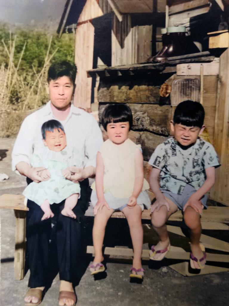 代々木町佐藤さん宅の記念写真