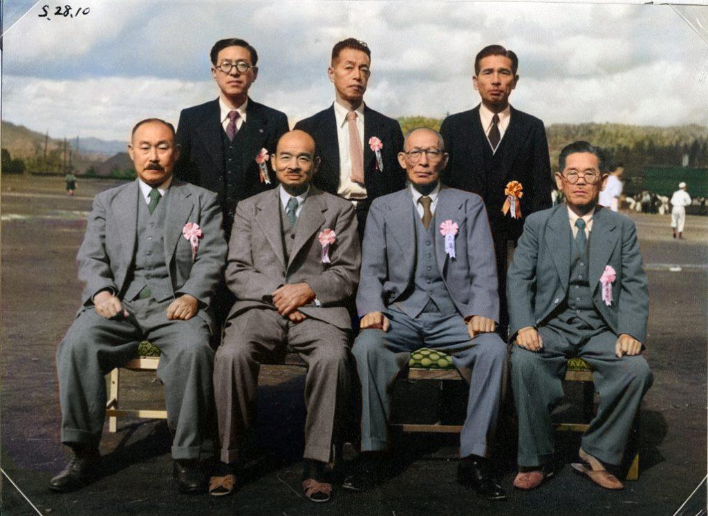 昭和28年 鹿島小学校歴代校長