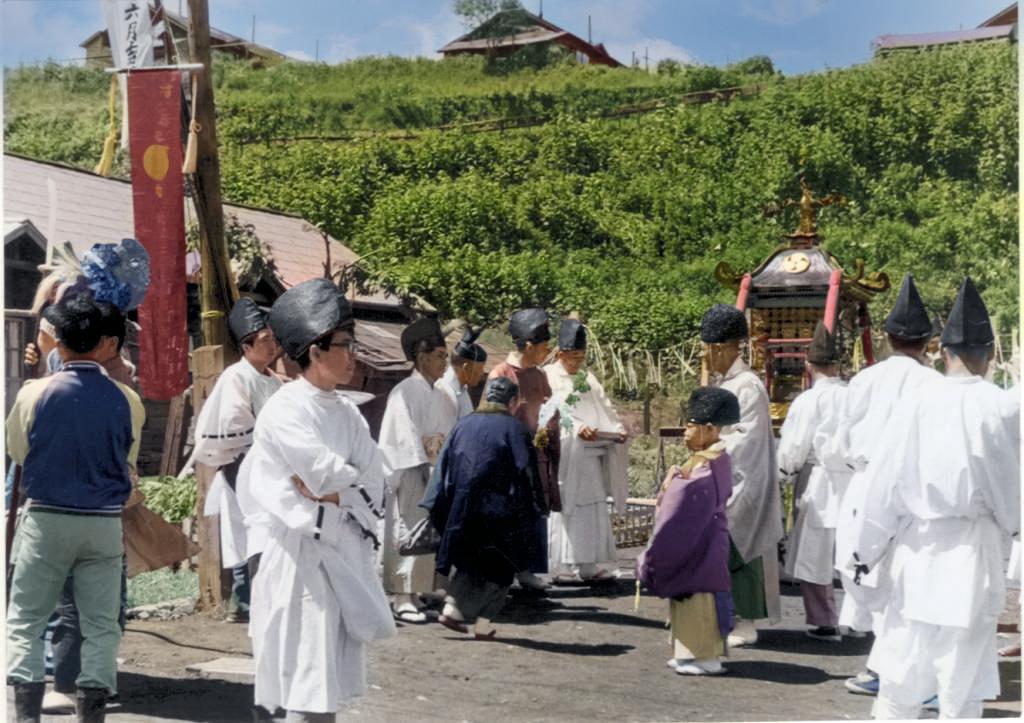 山神祭 春日町の坂