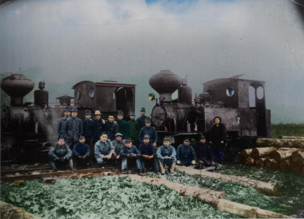 南大夕張貯木場と森林鉄道SL