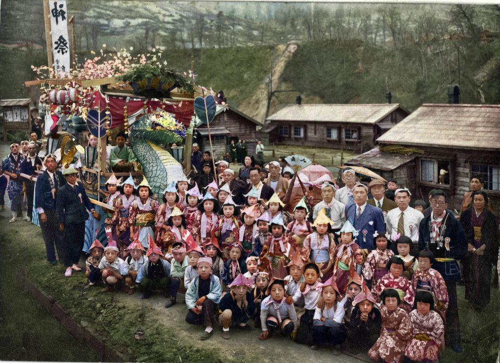 昭和27年 常盤町山神祭