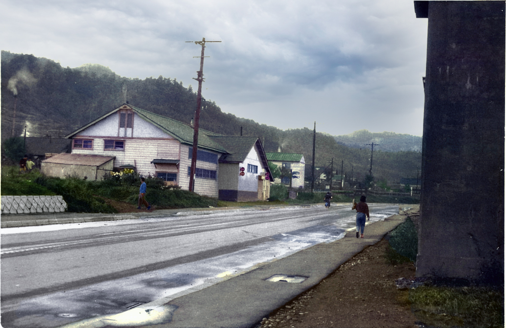 雨上がりの購買会栄町支所