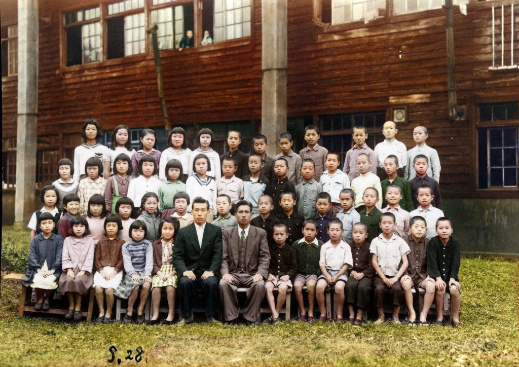 昭和28年 鹿島小学校 学級写真