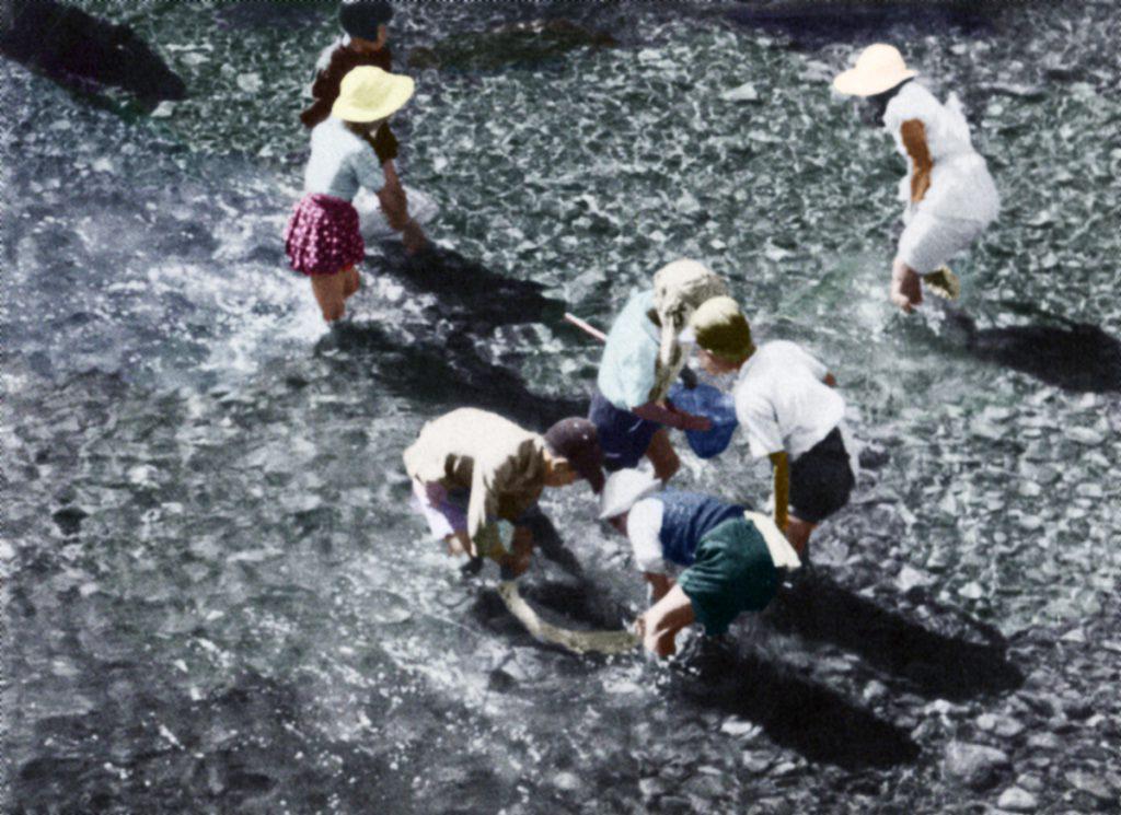 シューパロ川上流 川遊び